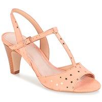 Schoenen Dames Sandalen / Open schoenen André BETY Roze