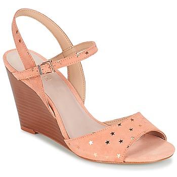 Schoenen Dames Sandalen / Open schoenen André BECKY Roze