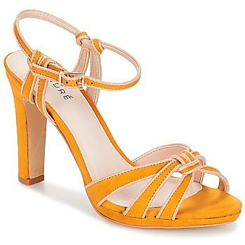 Schoenen Dames Sandalen / Open schoenen André ARPEGE Geel