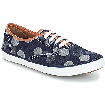 Schoenen Dames Lage sneakers André COSMOS Marine