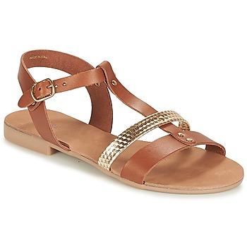 Schoenen Dames Sandalen / Open schoenen André CAYO COCOS Camel