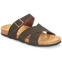 Schoenen Heren Sandalen / Open schoenen André MAUX Bruin