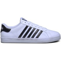 Schoenen Dames Lage sneakers K-Swiss Belmont SO Snake Wit