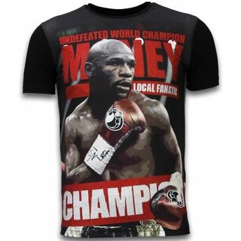 Textiel Heren T-shirts korte mouwen Local Fanatic Money Champion - Digital Rhinestone T-shirt 38