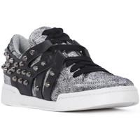 Schoenen Dames Lage sneakers At Go GO MICROCRACK ARGENTO Grigio