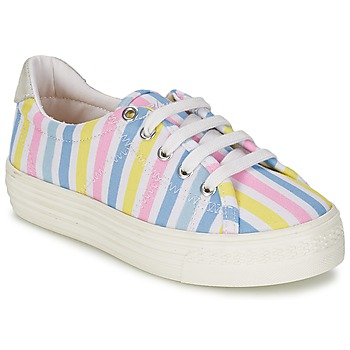 Schoenen Meisjes Lage sneakers Shwik STEP LO CUT Multi