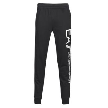 Textiel Heren Trainingsbroeken Emporio Armani EA7 TRAIN TRITONAL M PANTS CH BR Zwart / Wit