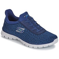Schoenen Dames Fitness Skechers EZ FLEX 3.0 Navy