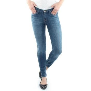 Textiel Dames Skinny Jeans Lee Scarlett Blue L526SVIX blue