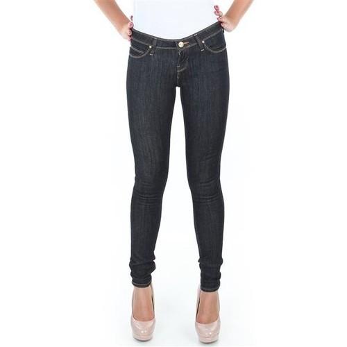 Textiel Dames Skinny Jeans Lee Spodnie  Toxey Rinse Deluxe L527SV45 blue