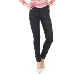 Textiel Dames Skinny Jeans Wrangler Jaclyn INK LUX W26DBI33L black
