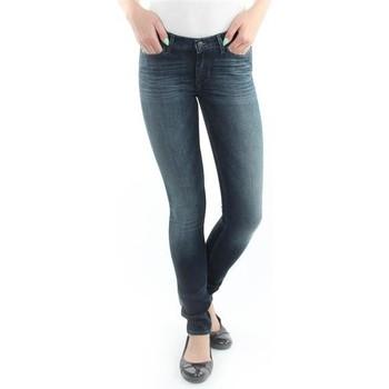 Textiel Dames Skinny Jeans Wrangler Jeans  Jaclyn  Dark Lake W26DU468Y blue