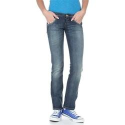 Textiel Dames Straight jeans Lee Lynn L38418HD blue