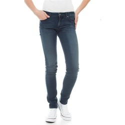 Textiel Dames Skinny Jeans Wrangler Molly River Washed W251ZB33T blue