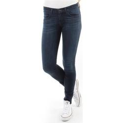 Textiel Dames Skinny Jeans Wrangler Spodnie Damskie CORYNN BLUE SHELTER W25FU466N blue