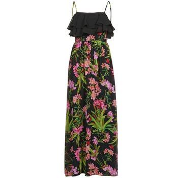 Textiel Dames Lange jurken Morgan RASSIM Zwart / Groen