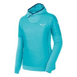 Textiel Dames Fleece Salewa Bluza  Pedroc PTC Alpha W Hoody 26355 blue