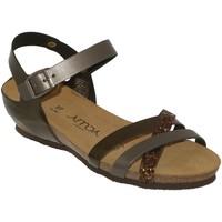 Schoenen Dames Sandalen / Open schoenen Amoa Tulle Satijngrijs