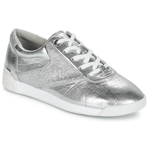 Schoenen Dames Lage sneakers MICHAEL Michael Kors ADDIE LACE UP Zilver