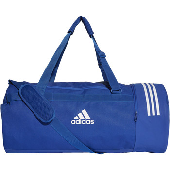 Tassen Sporttas adidas Performance Convertible 3-Stripes Duffeltas Large Blauw / Wit / Wit