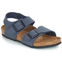 Schoenen Jongens Sandalen / Open schoenen Birkenstock NEW YORK Blauw