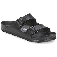 Schoenen Heren Leren slippers Birkenstock ARIZONA EVA Zwart