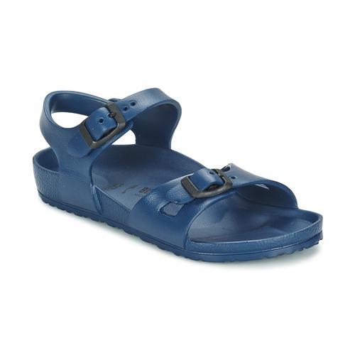 Schoenen Meisjes Sandalen / Open schoenen Birkenstock RIO EVA Marine
