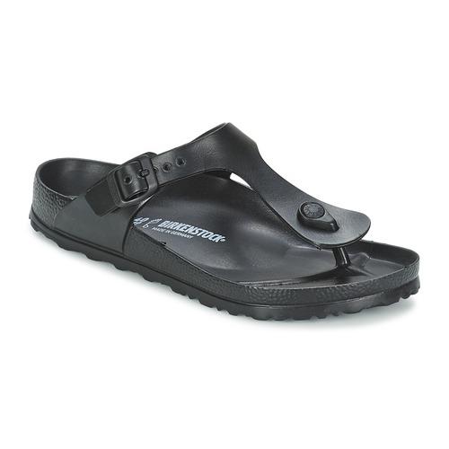 Schoenen Teenslippers Birkenstock GIZEH EVA Zwart