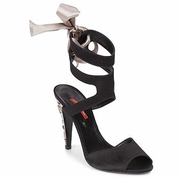 Schoenen Dames Sandalen / Open schoenen Charles Jourdan MADNESS Zwart / Zand