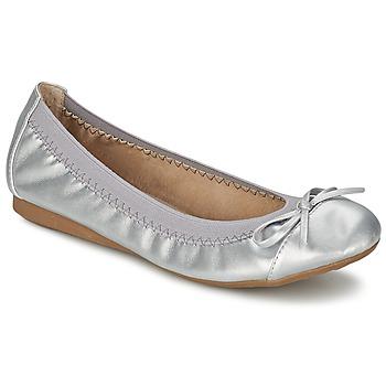 Schoenen Dames Ballerina's Moony Mood BOLALA Zilver