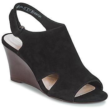 Schoenen Dames Sandalen / Open schoenen Clarks Raven Mist Zwart
