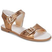 Schoenen Dames Sandalen / Open schoenen Clarks Bay Primrose Brons / Metaal