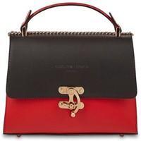 Tassen Dames Handtassen kort hengsel Christian Laurier ORA rouge noir