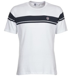 Textiel Heren T-shirts korte mouwen Sergio Tacchini YOUNG LINE Wit