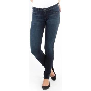 Textiel Dames Skinny Jeans Wrangler Jeans   Courtney blue shelter W23SU466N blue