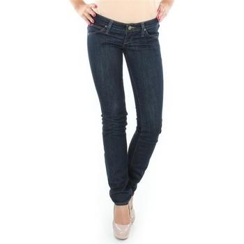 Textiel Dames Straight jeans Lee Lynn L340AGNA black