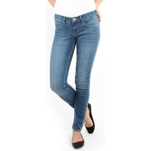 Textiel Dames Skinny Jeans Lee Spodnie Damskie  357SVIX Lynn  Skinny blue