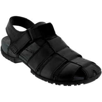 Schoenen Heren Sandalen / Open schoenen Mephisto BASILE Zwart leer
