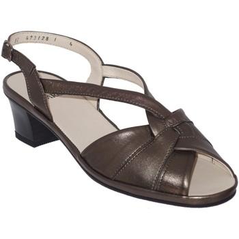 Schoenen Dames Sandalen / Open schoenen Marco ESTELLE Brons leer