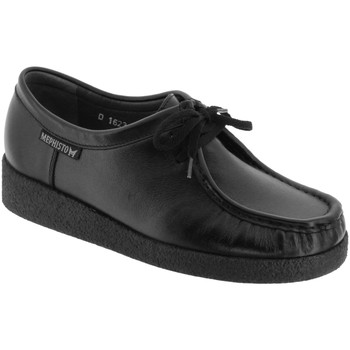 Schoenen Dames Mocassins Mephisto CHRISTY Zwart leer