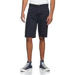 Textiel Heren Korte broeken / Bermuda's Wrangler Chino Shorts W14MLL49I navy