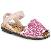 Schoenen Meisjes Sandalen / Open schoenen Citrouille et Compagnie SQUOUBEL Fushia