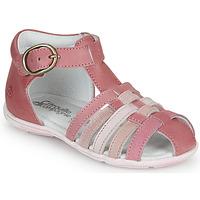 Schoenen Meisjes Sandalen / Open schoenen Citrouille et Compagnie VISOTU Roze / Multicolour