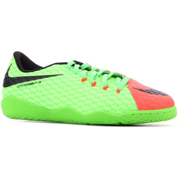 Schoenen Kinderen Sandalen / Open schoenen Nike JR Hypervenomx Phelon III IC 852600 308 green, orange