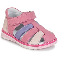 Schoenen Meisjes Sandalen / Open schoenen Citrouille et Compagnie FRINOUI Lila / Roze / Fushia