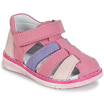 Schoenen Meisjes Sandalen / Open schoenen Citrouille et Compagnie CHIZETTE Lila / Roze / Fushia