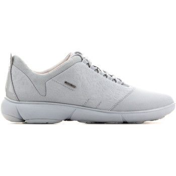 Schoenen Dames Lage sneakers Geox D Nebula A - Print.Text + Text D621EA 0AN11 C4004 green