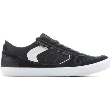 Schoenen Heren Lage sneakers Geox U Box C - Suede+Nylon U82R3C 022FU C4002 navy