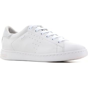 Schoenen Dames Lage sneakers Geox D Jaysen A - Nappa D621BA 00085 C1001 white
