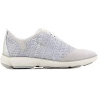 Schoenen Dames Lage sneakers Geox D Nebula C D621EC 06K22 C1002 brown, grey